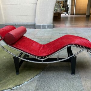 Le Corbusier - Charlotte Perriand - LC4 Rouge