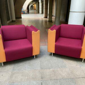 Paire de fauteuils - Design et fabrication Moroso