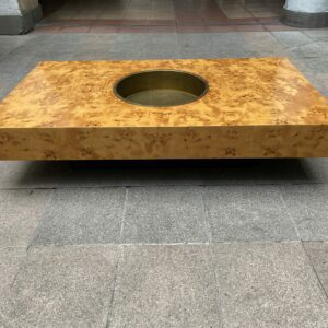 Willy Rizzo - Table basse - Rare