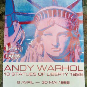 Andy WARHOL (1928-1987) - 10 Statues of Liberty à vendre