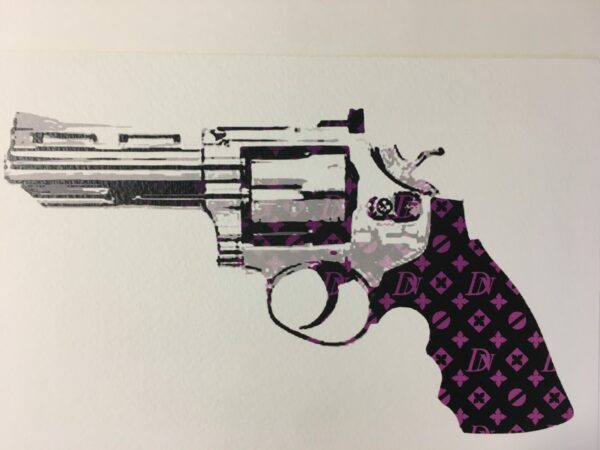 Death NYC - Gun DN purple - 2012
