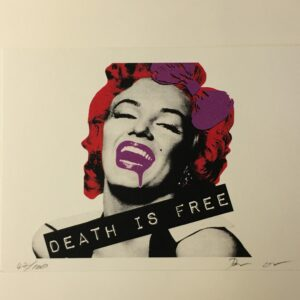 Death NYC - Marilyn Death red - 2012