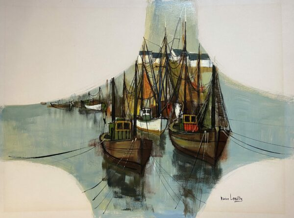 Maurice Lemaître - Sortie de port