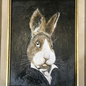 PETRAEUS - Mr Rabbit, 2018 - Acrylique