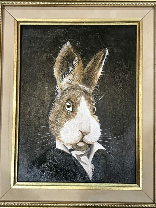 PETRAEUS - Mr Rabbit, 2018 - Acrylique