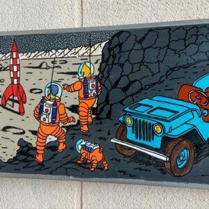 Vinc - Tintin - Panneau de signalisation