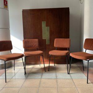 André Simard - Série de 4 chaises