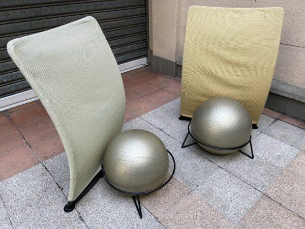 Bernini - Paire de chaises San Siro
