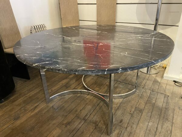 Florence Knoll - Table marbre