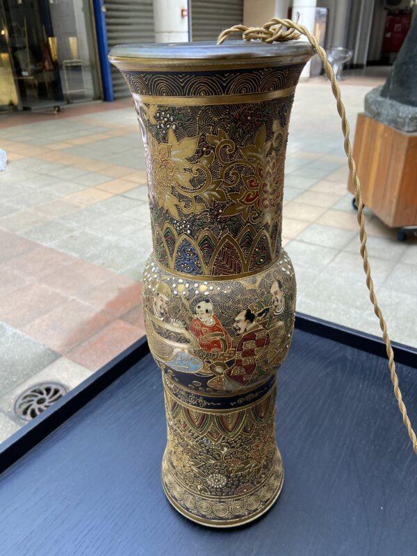 Lampe de Satsuma - Japon