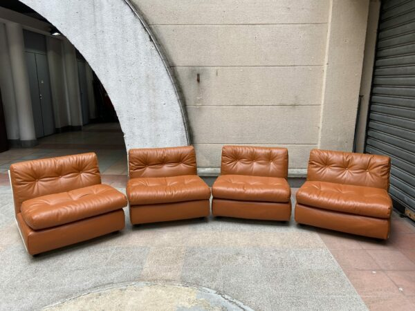 Mario bellini - 4 fauteuils