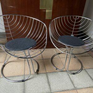 Paire de fauteuil - GASTONE Rinaldi