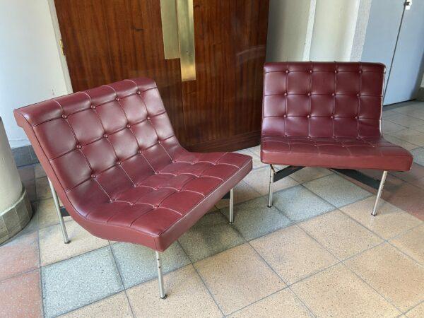 Paire de fauteuils « New York » - William Katavolos, Ross Little et Douglas Kelly