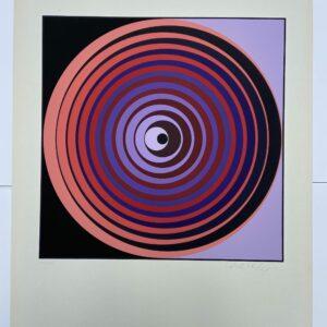 Vasarely - Cinétique 2 - Sérigraphie