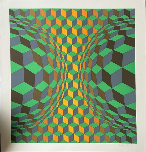 Victor Vasarely - cinétique 12