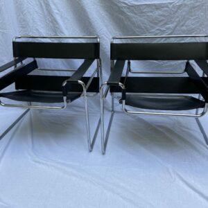 Marcel Lajos Breuer - Paire de fauteuil Wassily