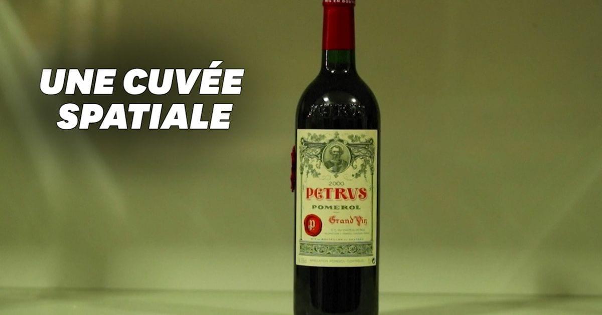 Une bouteille de Petrus revenue de l'espace estimée à un million de dollars par Christie's