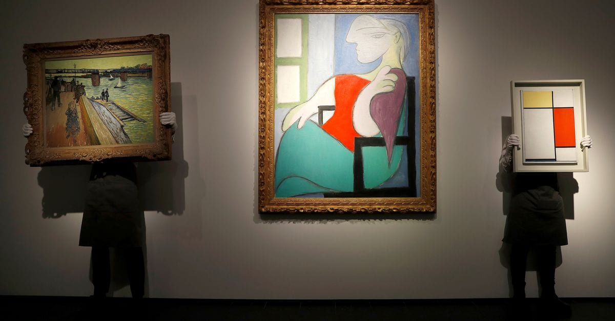 Picasso oil painting sells for over $100 mln at New York auction