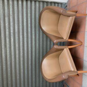 Poltrona Frau - Paire de fauteuils Sina