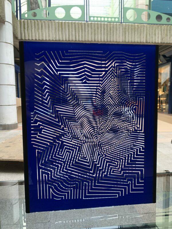 Vasarely - Zint - Sculptur