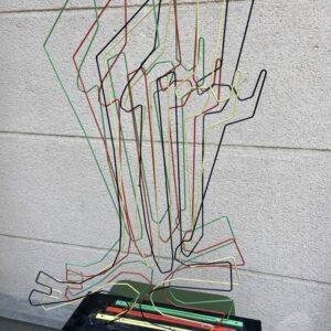 Medaglini (1939-2011) - Sculpture A16 Projection et vibration