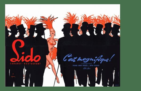 René GRUAU - LIDO - C'est Magnifique - 1956 A vendre